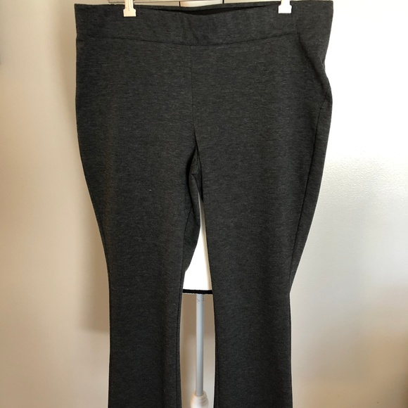3642d4030f Simply Vera Vera Wang Pants | Simply Vera Xl Gray Ponte Pullon ...